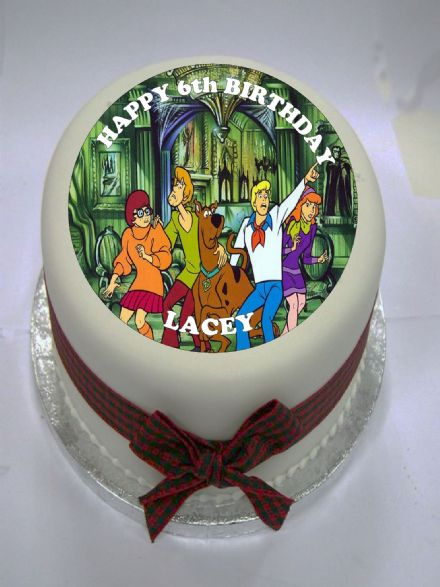 Scooby Doo Edible Cake Topper